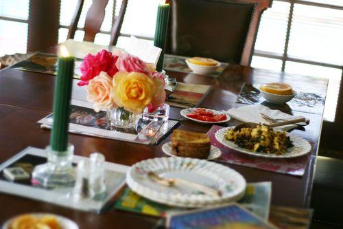 Joan's breakfast