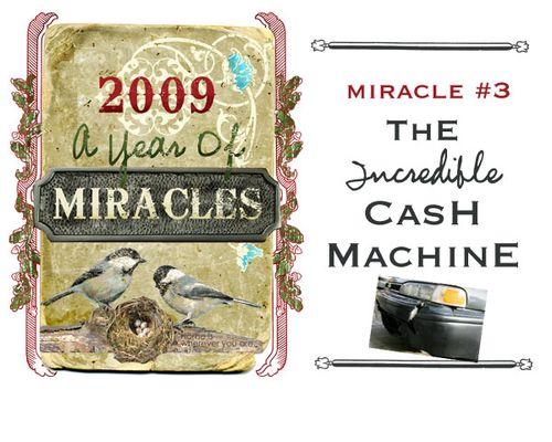 3 cash machine