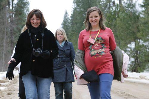 Lisa charity walking