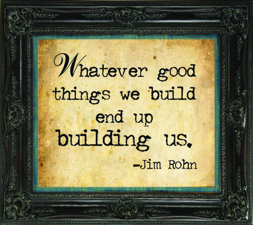 End up building us