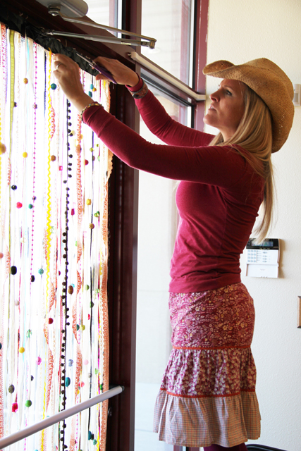 Melody hanging bead curtain copy
