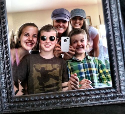 New family mirror