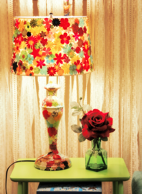The pretty lamp