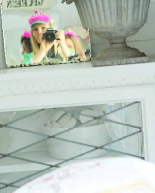 -in the mirror tiara