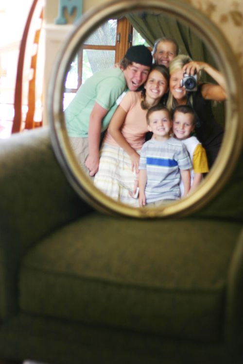 Family old mirror