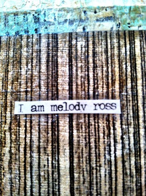 I am melody ross