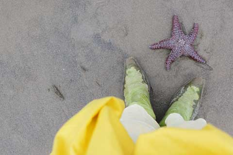 Me with starfish