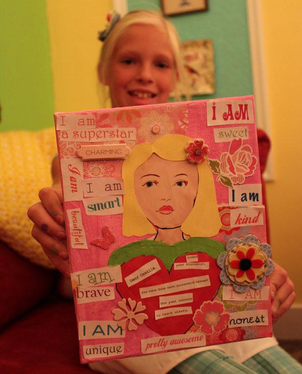 23 blonde canvas