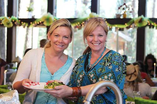 Kathy and shamanie