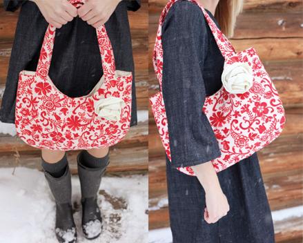 Jeanne red bag