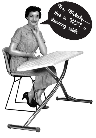 Womanironing