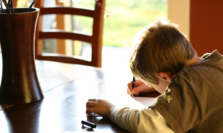 Max_writing_letter